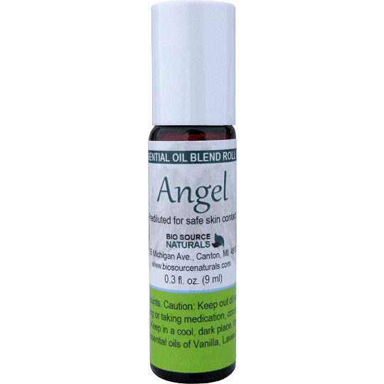 Bio Source Naturals Angel Essential Oil Blend Roll-On 0.3 fl oz (9 ml)