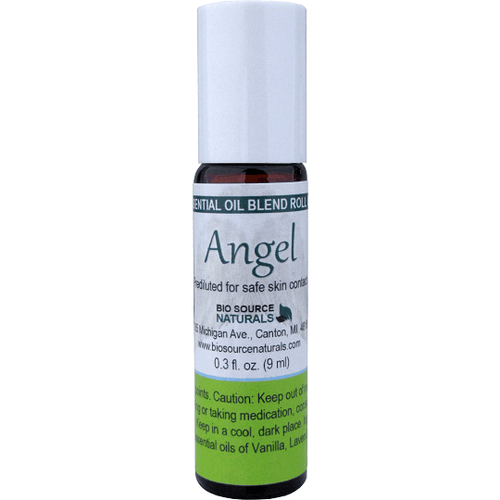 Bio Source Naturals Angel Essential Oil Blend Roll-On 0.3 fl oz (9 ml) - Robinsons Nest