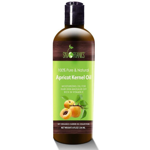 Pure & Natural Apricot Kernel Oil by Sky Organics - Robinsons Nest