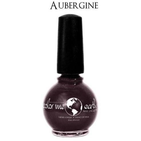 Color Me Earth Vegan 4 Free Nail Lacquer - Aubergine