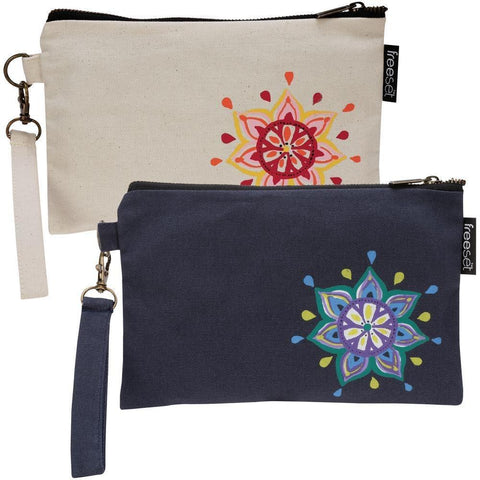 Bohemian Medallion Clutch by Global Girlfriend 100% Organic Cotton Fair Trade - Robinsons Nest