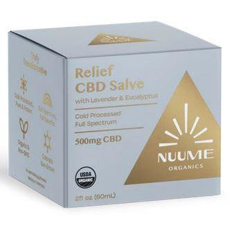 NuuMe Organic Topical ReLeaf Salve with 500 mg Full Spectrum Hemp Extract