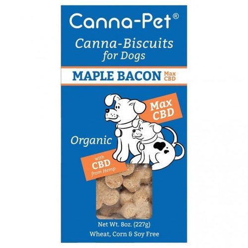 Canna-Biscuits for Dogs - Maple Bacon Max CBD - Robinsons Nest
