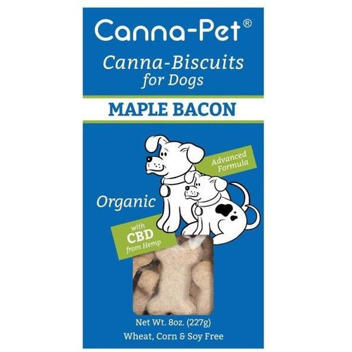 Canna-Biscuits for Dogs - Advanced Formula Maple Bacon - Robinsons Nest