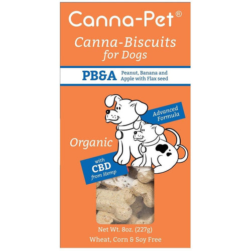 Canna-Biscuits for Dogs - Peanut Banana Apple