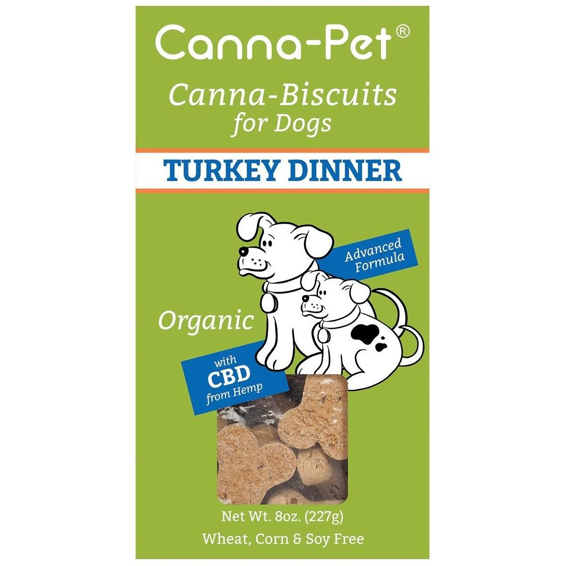 Canna-Biscuits for Dogs - Turkey Dinner - Robinsons Nest