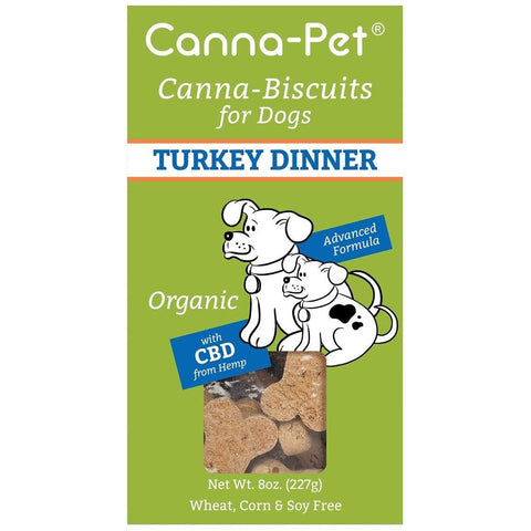 Canna-Biscuits for Dogs - Turkey Dinner