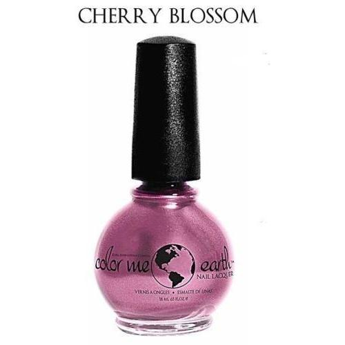 Color Me Earth Vegan 4 Free Nail Lacquer - Cherry Blossom - Robinsons Nest