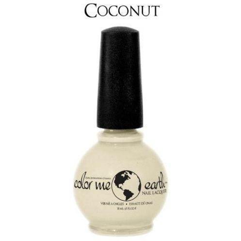 Color Me Earth Vegan 4 Free Nail Lacquer - Coconut - Robinsons Nest