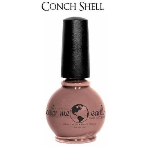 Color Me Earth Vegan 4 Free Nail Lacquer - Conch Shell - Robinsons Nest