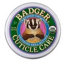 Badger Certified Organics Cuticle Care with Shea & Coconut Butters - Robinsons Nest