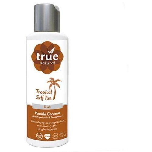 True Natural Self Tanner Quick Dry Formula Dark Tan Vanilla – Coconut - Robinsons Nest