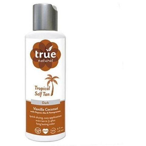 True Natural Self Tanner Quick Dry Formula Dark Tan Vanilla – Coconut - Robinsons Nest - 1