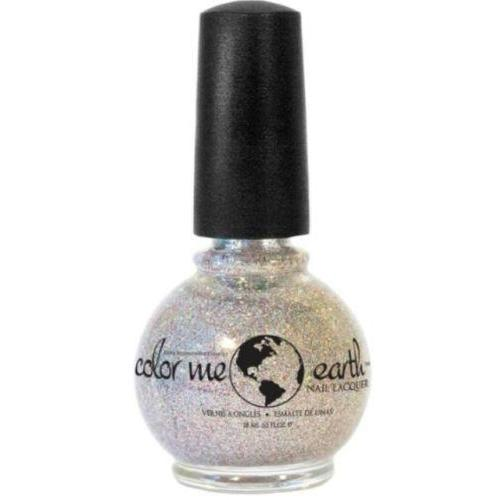 Color Me Earth Vegan 4 Free Nail Lacquer - Diamond Dust - Robinsons Nest