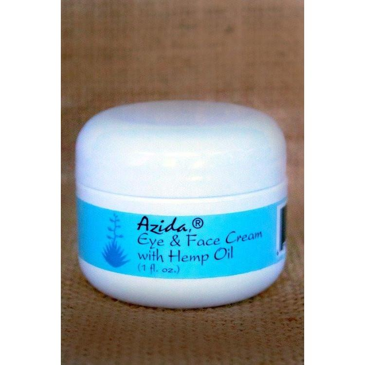Azida Eye & Face Cream with Hemp Oil - Robinsons Nest