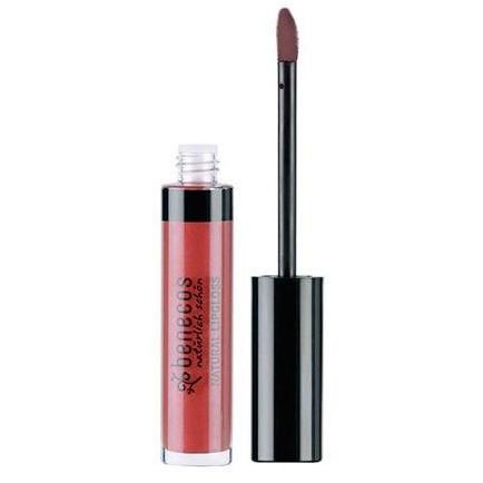 Benecos Natural Lipgloss With Organic Sunflower Oil  - Flamingo