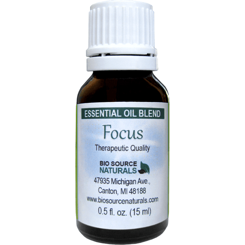 Focus Essential Oil Blend .5 fl oz (15 ml) - Robinsons Nest