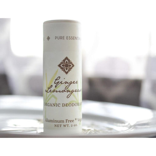 Unearth Malee Organic Deodorant Ginger Lemongrass - Robinsons Nest