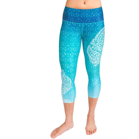 Lotus Capri Yoga Pant by Inner Fire