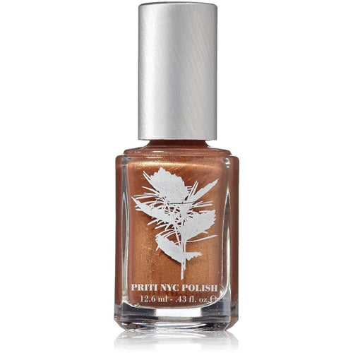 Priti NYC Vegan and Natural Nail Polish - Golden Club Lily - Robinsons Nest