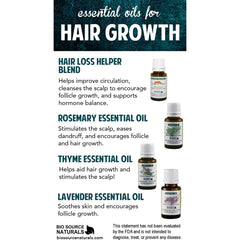 Hair Loss Helper Essential Oil Blend - Robinsons Nest - 2
