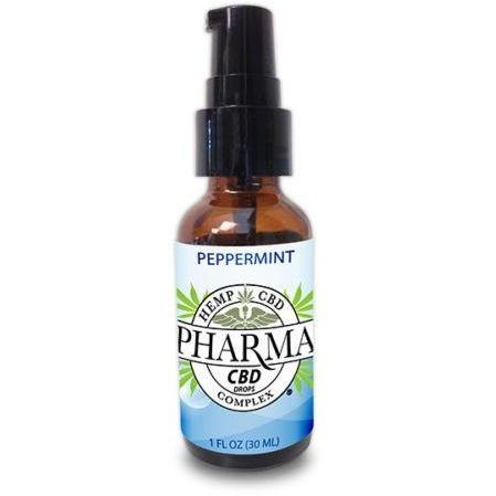 Hemp Health 25% Pharma CBD Pure Gold Hemp Oil