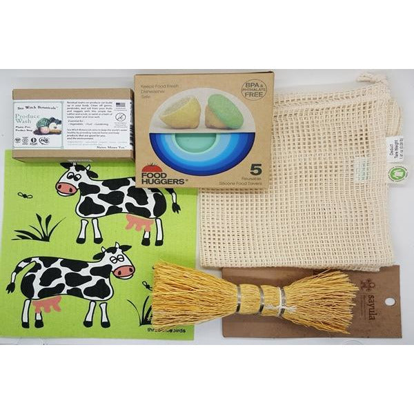 Plastic Free Zero Waste Gift Set Kitchen