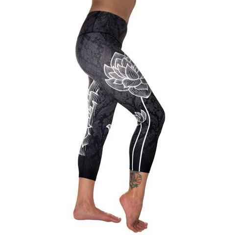 Lotus Capri Yoga Pant by Inner Fire - Robinsons Nest - 1