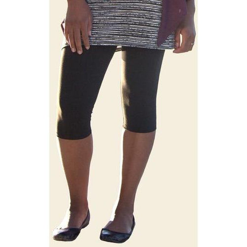 Maggie's Organic Mid-Calf Leggings - French Roast - Robinsons Nest
