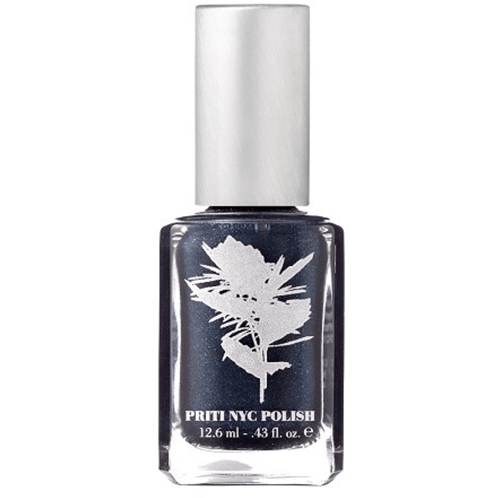 Priti NYC Vegan and Natural Nail Polish - Midnight Blue - Robinsons Nest