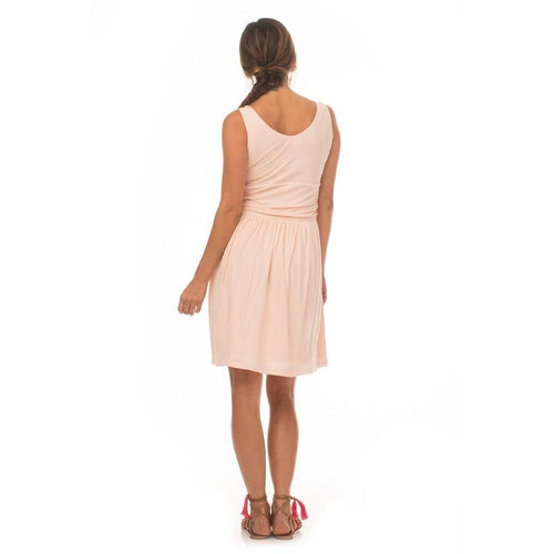 Synergy Organic Moxie Tissue Knit Dress - Rose