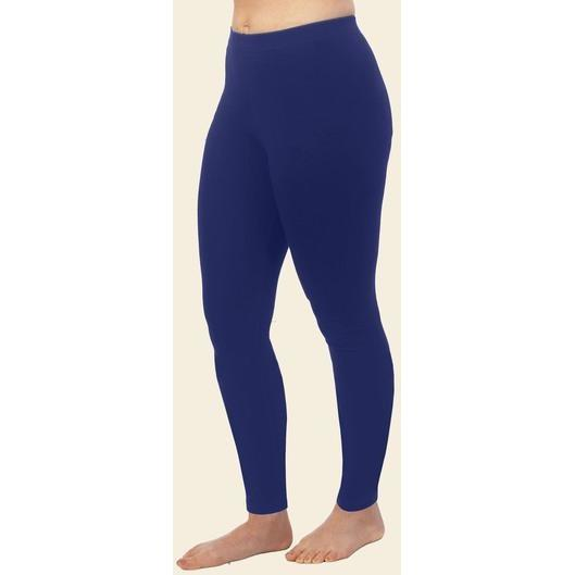 Maggie's Organics Cotton Ankle Leggings - Navy - Robinsons Nest