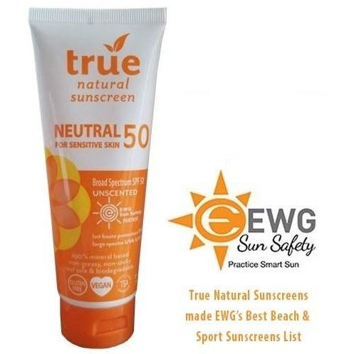 True Natural SPF 50 Sunscreen Neutral/Unscented - Robinsons Nest