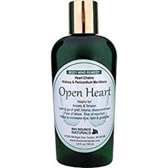 Body Mind Open Heart Lotion with Bach Flower Essences, Pure Essential Oils & Gem Elixirs - Robinsons Nest