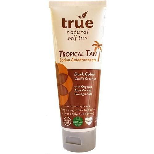 True Natural Organic Self Tanner Dark - Vanilla Coconut - Robinsons Nest