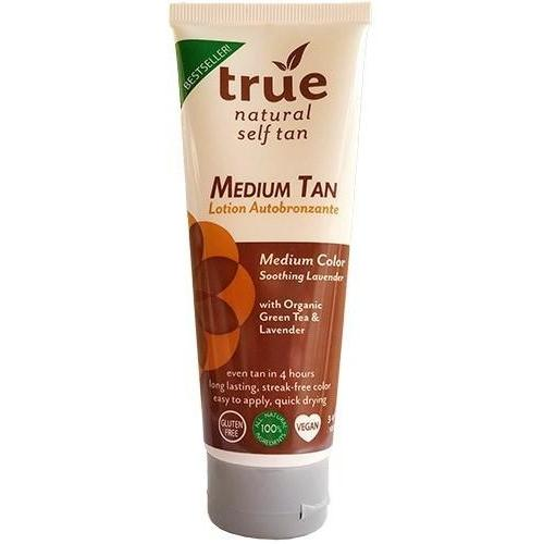 True Natural Organic Self Tanner Light Medium Tan - Lavender