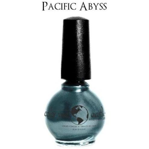 Color Me Earth Vegan 4 Free Nail Lacquer - Pacific Abyss - Robinsons Nest