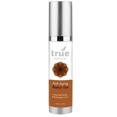 True Natural Self Tanner With Shimmer Skin Medium Tan