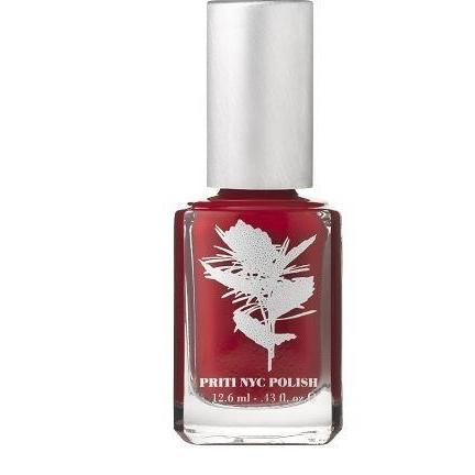 Priti NYC Vegan and Natural Nail Polish - Red Head Cactus - Robinsons Nest