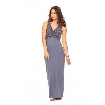 Synergy Organic Clothing Knotty Maxi Dress  -  LAST ONE! - Robinsons Nest - 1