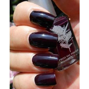 Priti NYC Vegan and Natural Nail Polish - Super Purple Daylily - Robinsons Nest