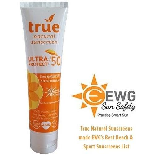 True Natural Ultra Protect 50 SPF Antioxidant Sunscreen - Robinsons Nest