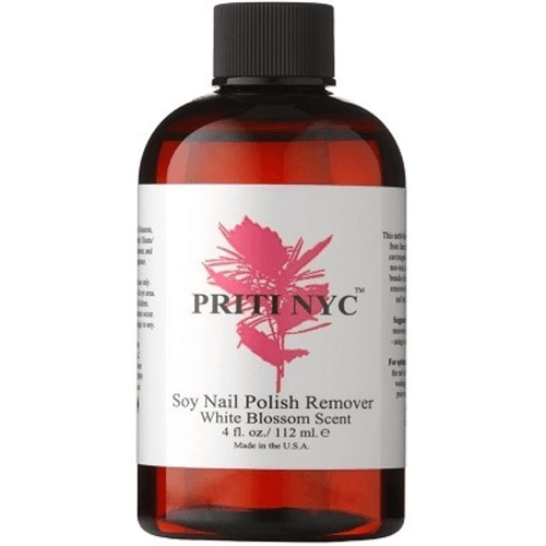 Priti NYC Soy Nail Polish Remover White Blossom Scent - Robinsons Nest