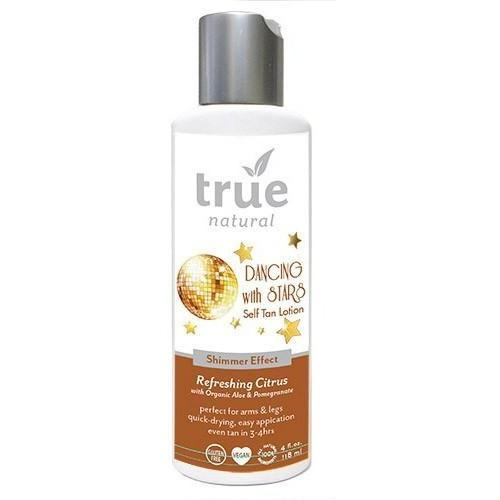 True Natural Self Tanner With Shimmer Skin Medium Tan - Robinsons Nest