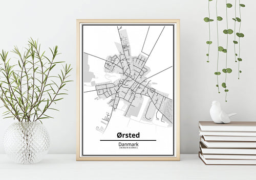 Ørsted plakat-Customized Product-CityPosters.dk