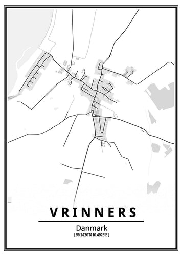 Vrinners plakat-Customized Product-CityPosters.dk