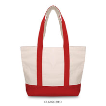 Load image into Gallery viewer, BRUSHED CANVAS MEDIUM BOAT TOTE