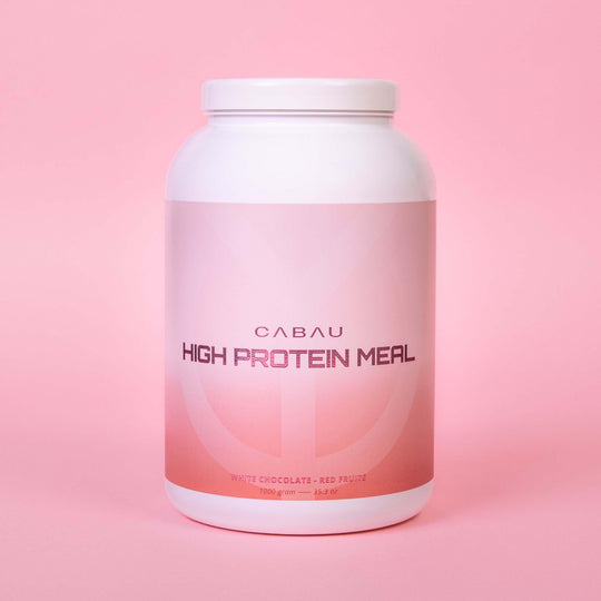 High Protein Meal Red Furits