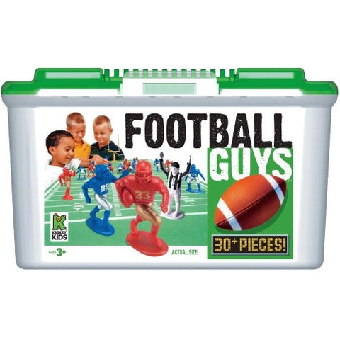 Football Guys by Kaskey Kids - Red and Blue Play Set - ArtsiHome
