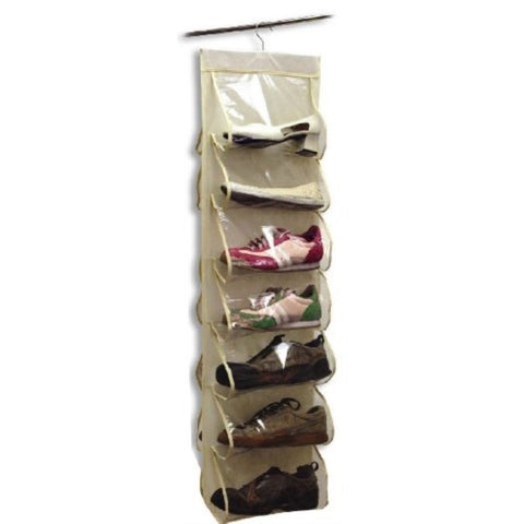 Innovative Home Creations Hanging Shoe Organizer (14 Pocket) - ArtsiHome